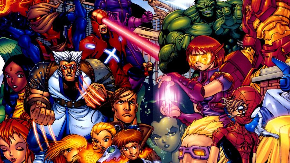 The Marvel Mangaverse