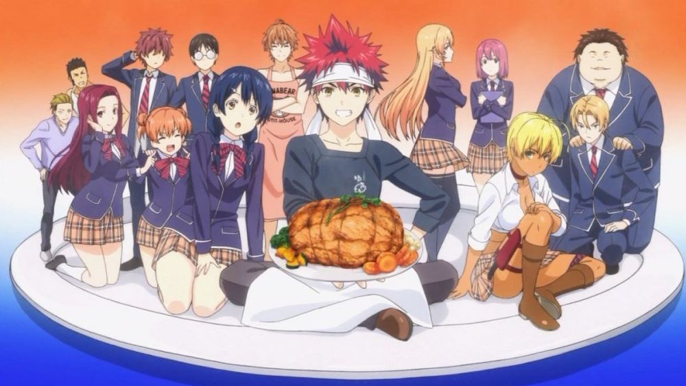 Food Wars: Shokugeki no Soma (Episodes 1-15)