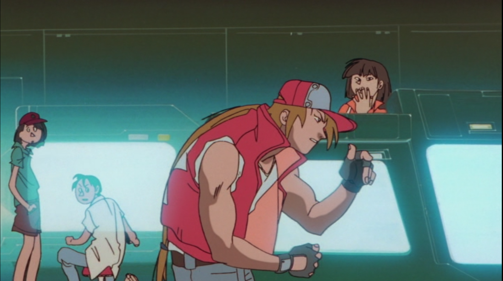 Fatal Fury The Motion Picture Anime Outsiders